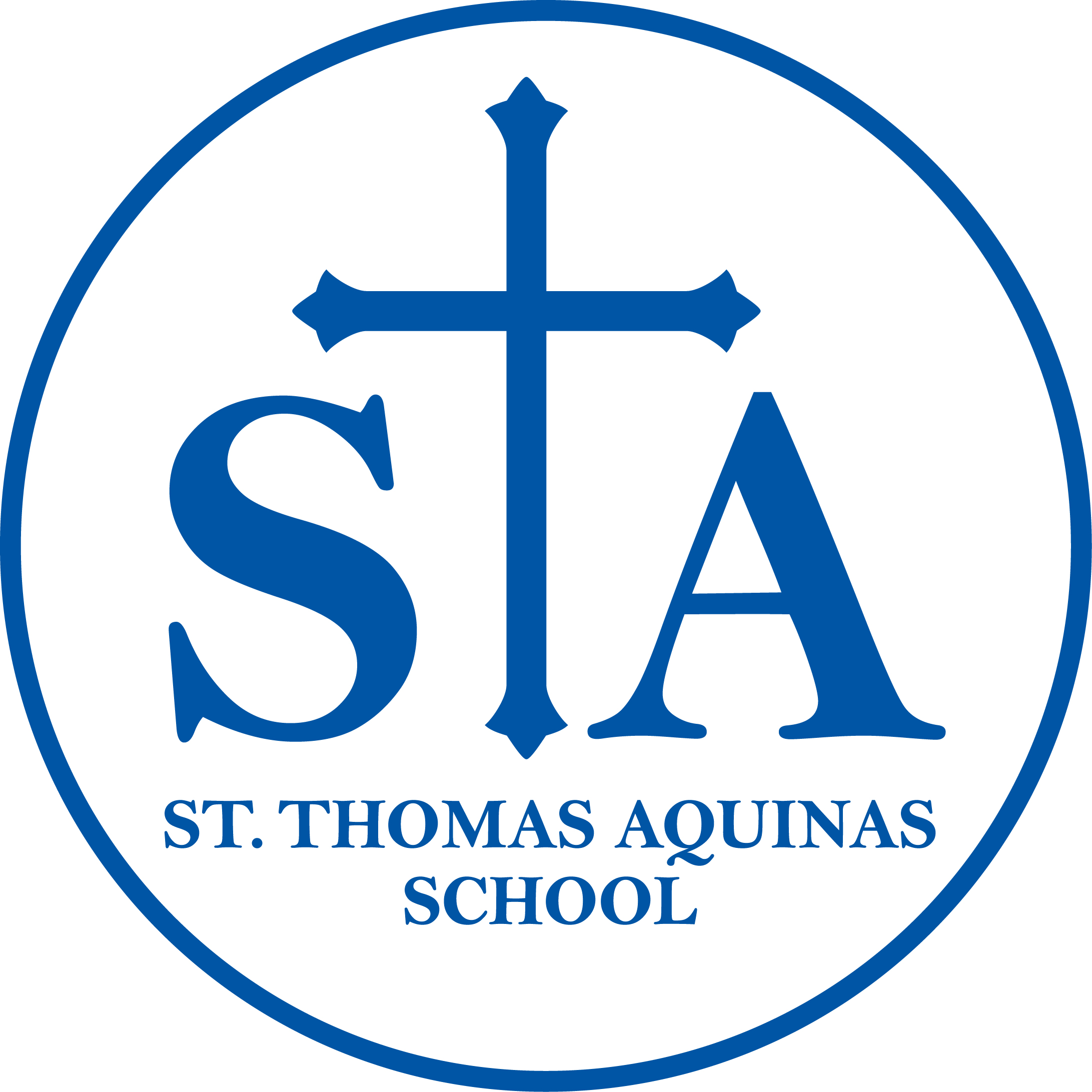 St. Thomas Aquinas School First Annual Golf Tournament logo