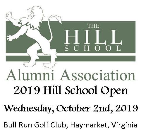 The 2019 Hill School Open Golf Tournament logo