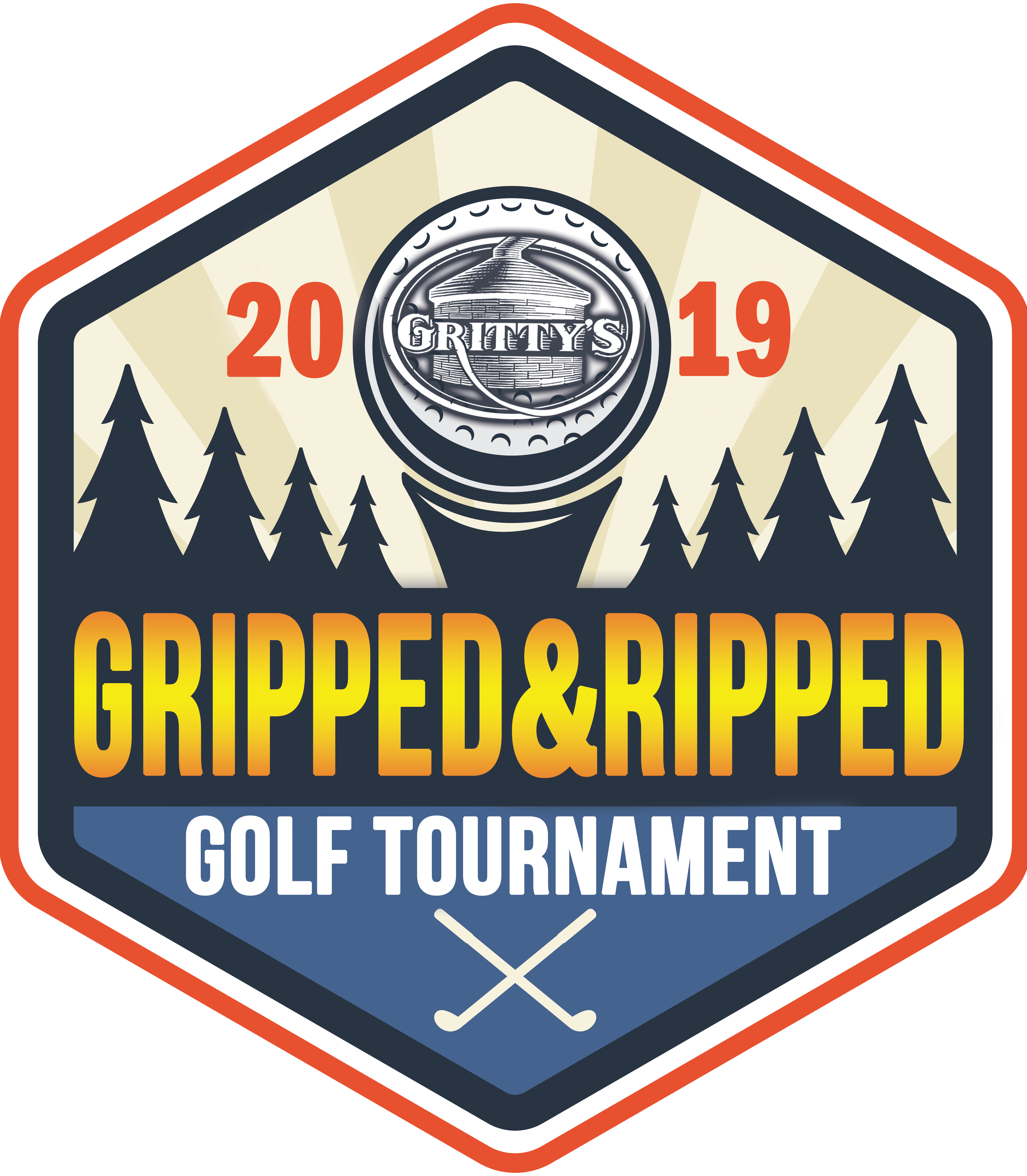 Gritty's Gripped & Ripped 2019 Golf Tournament logo