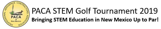 PACA STEM Golf Tournament logo