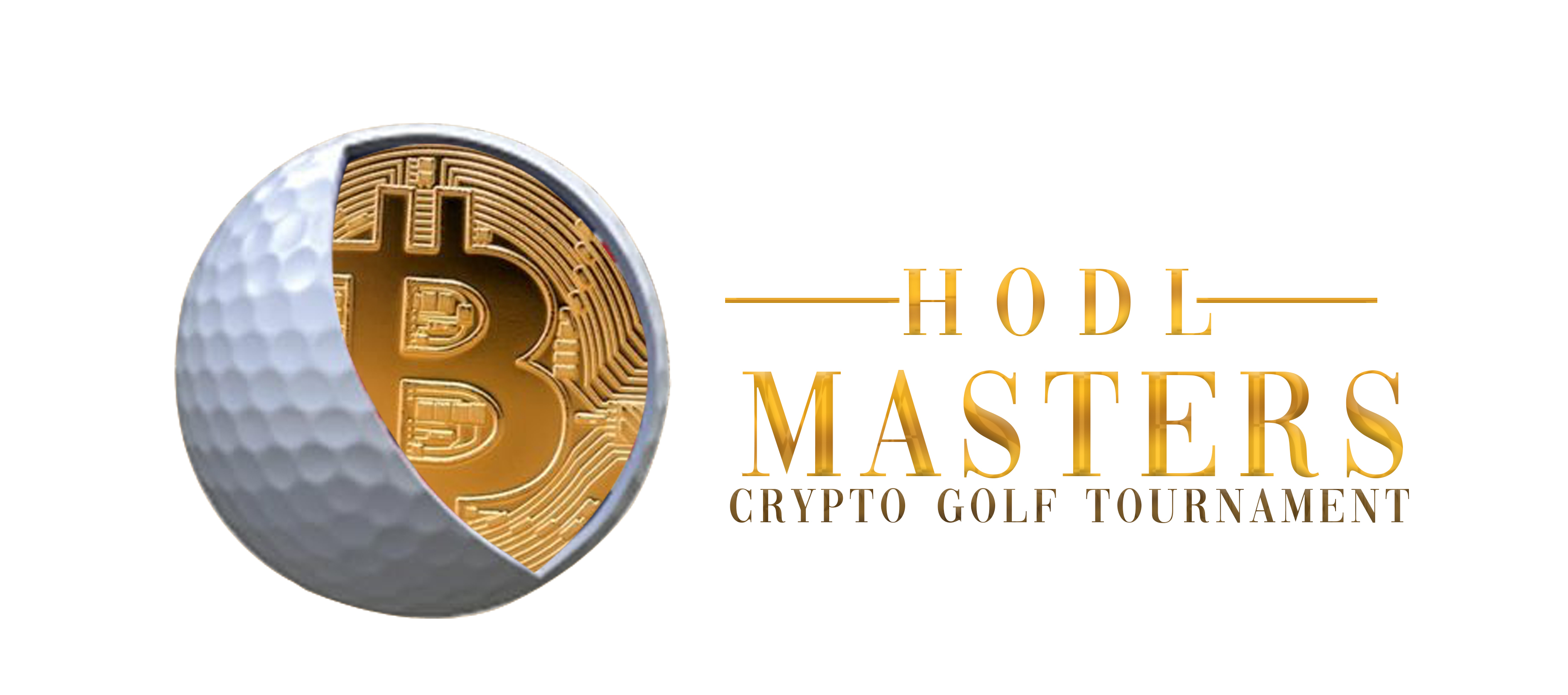 HODL Masters Crypto Golf Tournament logo