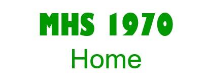 Medina High School 1970 50th Reunion ~ July 8 - 12 logo