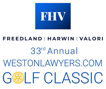 33rd Annual Rotary Golf Classic Sponsored by FHVLEGAL.COM logo