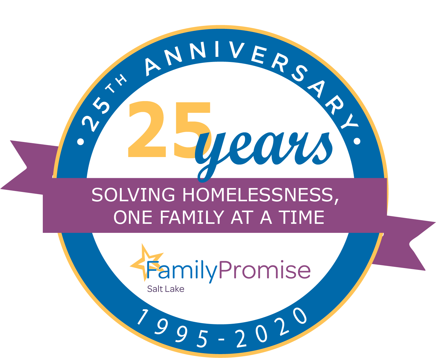 "Family Promise Salt Lake 1st Annual Celebrity Virtual Concert & Golf  Fundraiser               ""A Chip In Fore Homeless Families""                                   September 25 & 28th               Online  and logo"