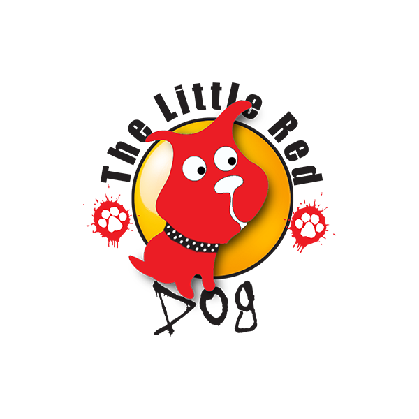 Putts for Paws • Benefitting The Little Red Dog logo