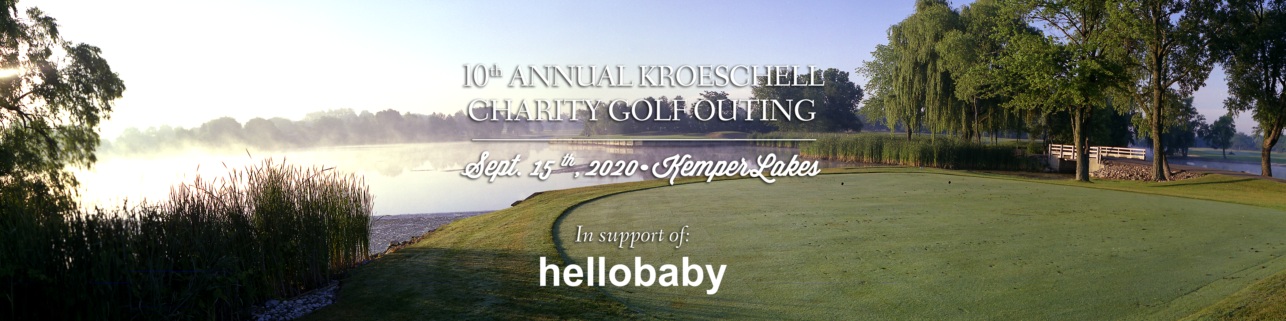 10th Annual Kroeschell Charity Golf Outing logo