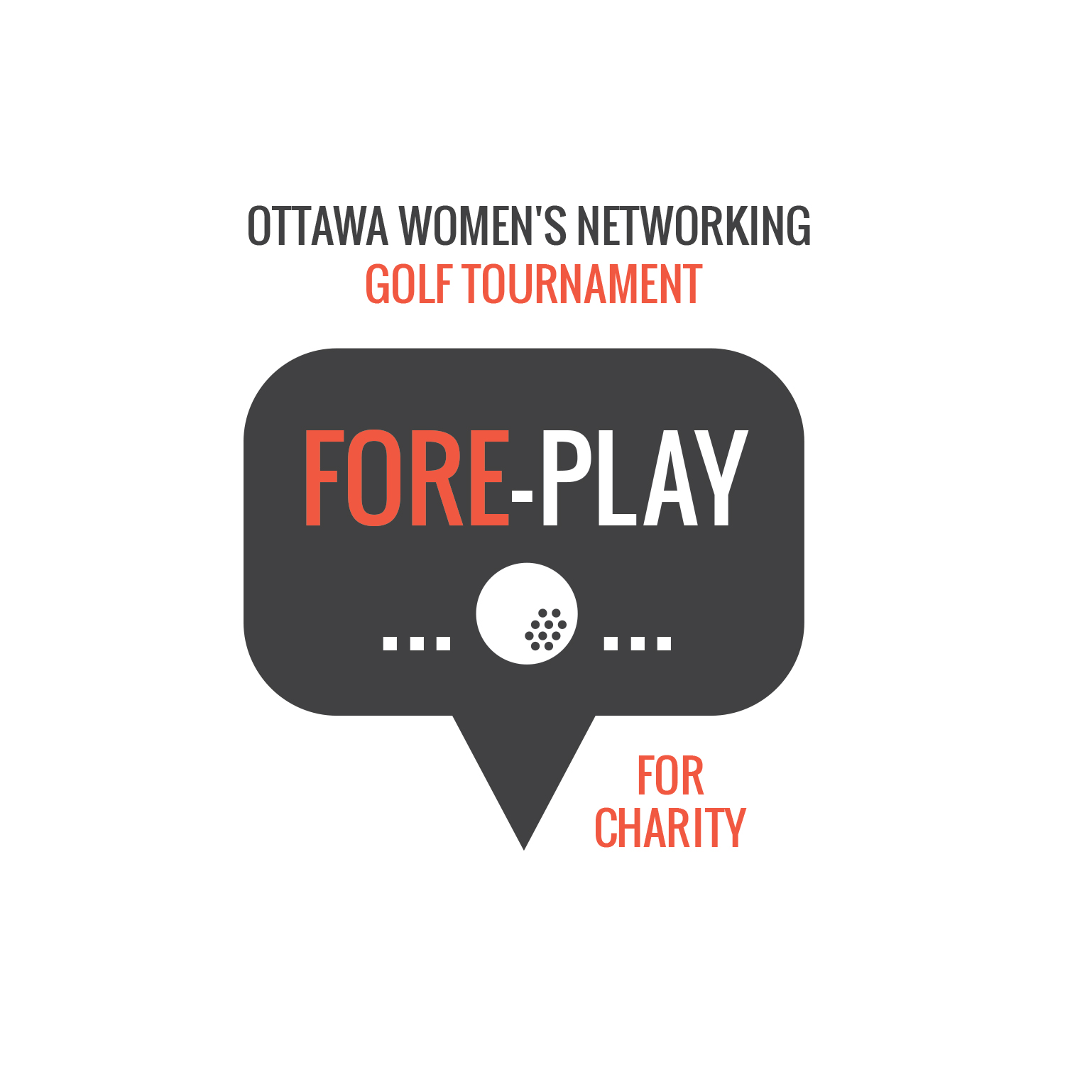 Fore-Play for Charity 2021 logo