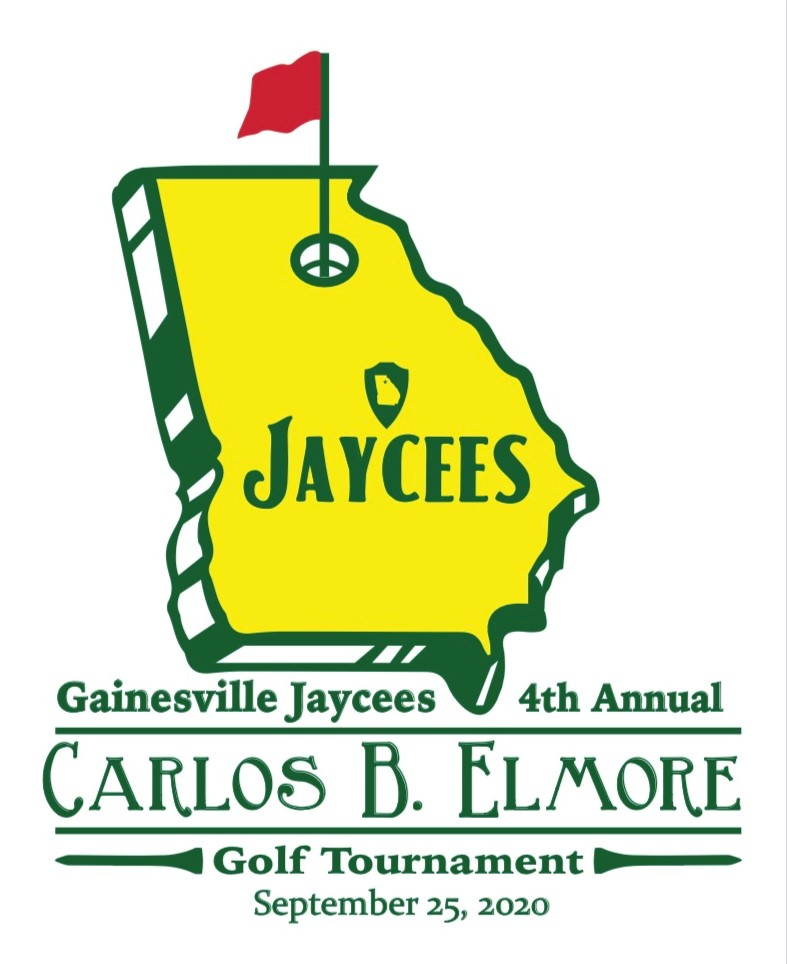 4th Annual Carlos B. Elmore Golf Tournament logo