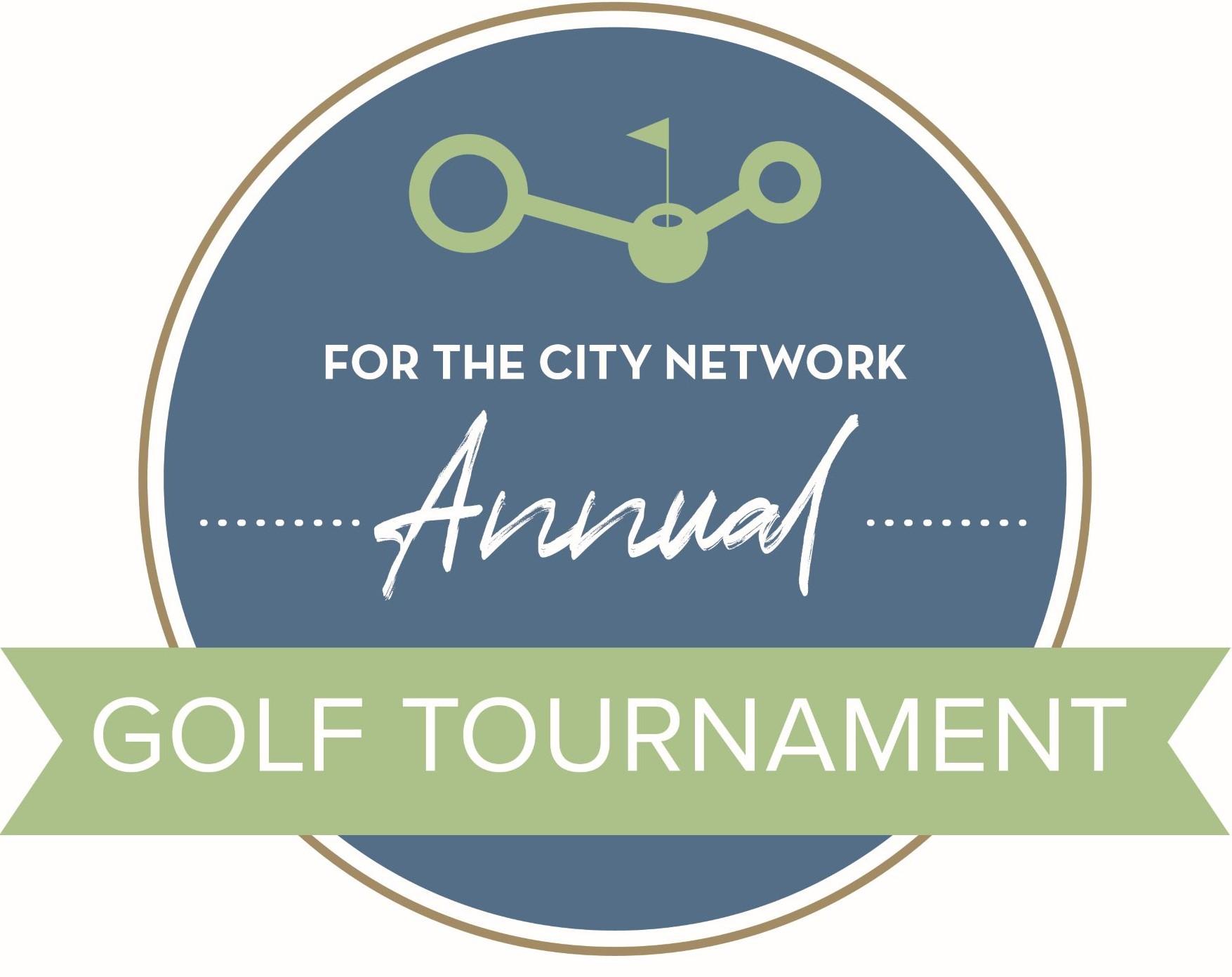 For the City Network Golf Tournament logo