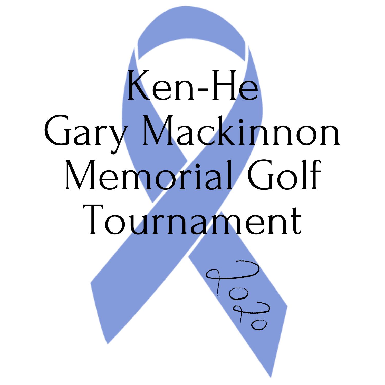 Ken-He Gary Mackinnon Memorial Golf Tournament logo