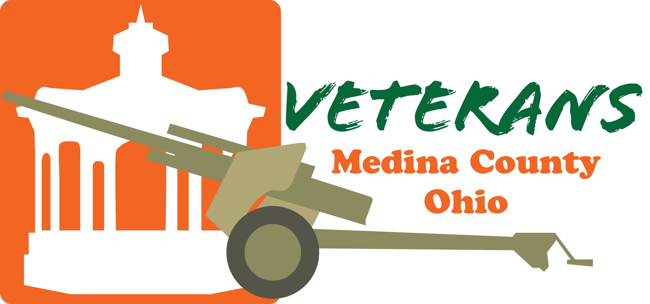 Medina Veterans Hall 2020 logo