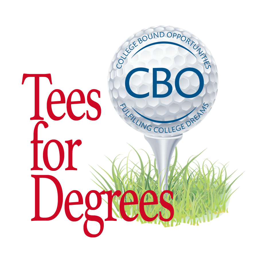 CBO's 8th Annual Tees for Degrees logo
