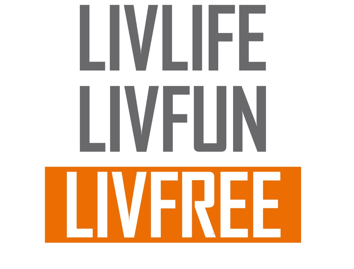 Tee-up for LivFree logo